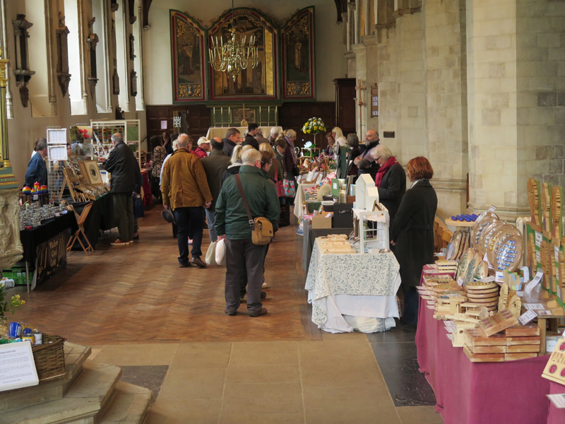 Wymondham Abbey Craft Fair