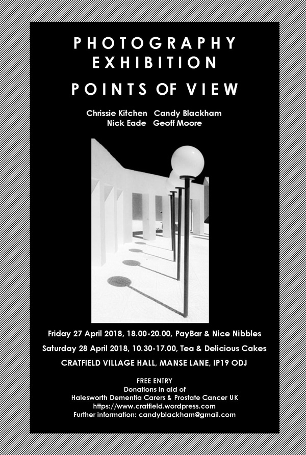 Points of View photography exhibition in Cratfield