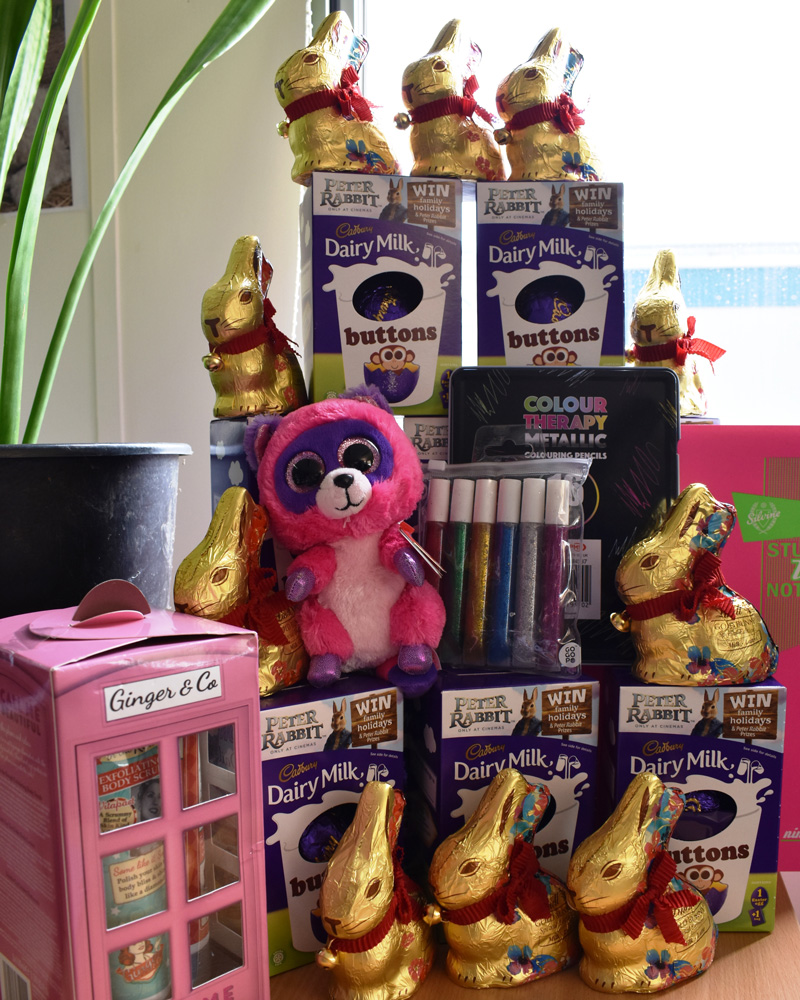 Children in hospital to receive egg-stra special gifts at NNUH this Easter