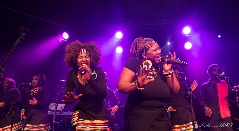 THE LONDON AFRICAN GOSPEL CHOIR
