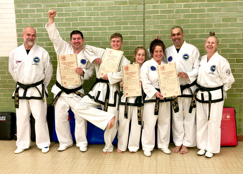 start taekwondo