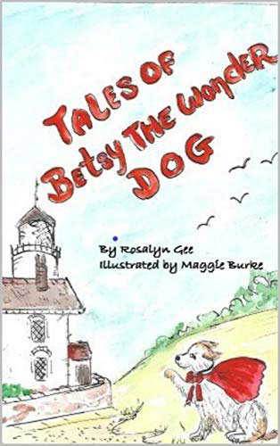 Local author Rosalyn Gee and her dog Betsy Suffolk Libraries Spring
