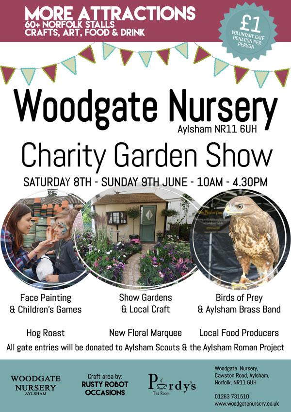 Woodgate Nursery garden show