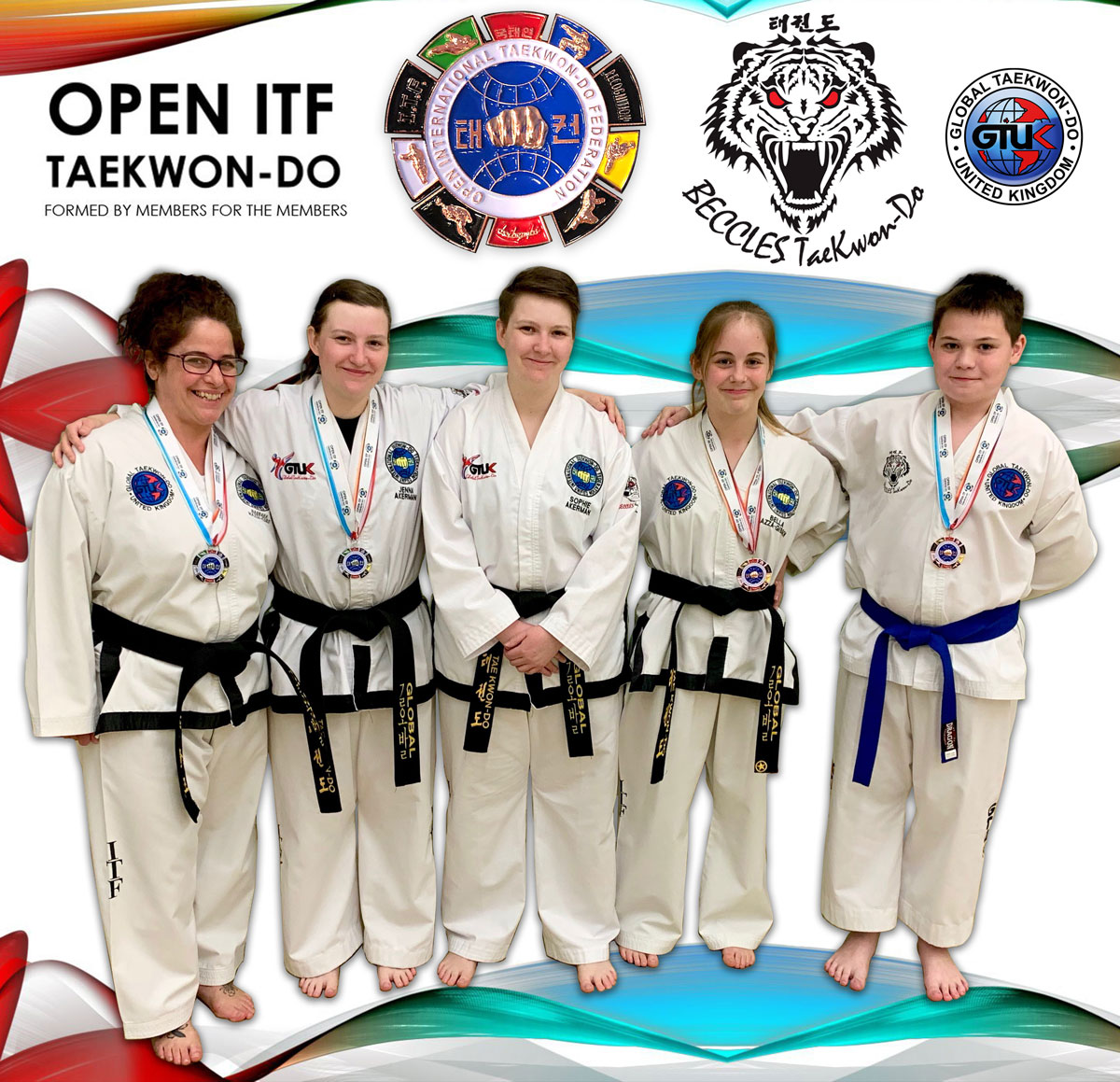 Beccles Taekwon-do Open ITF International Competitors