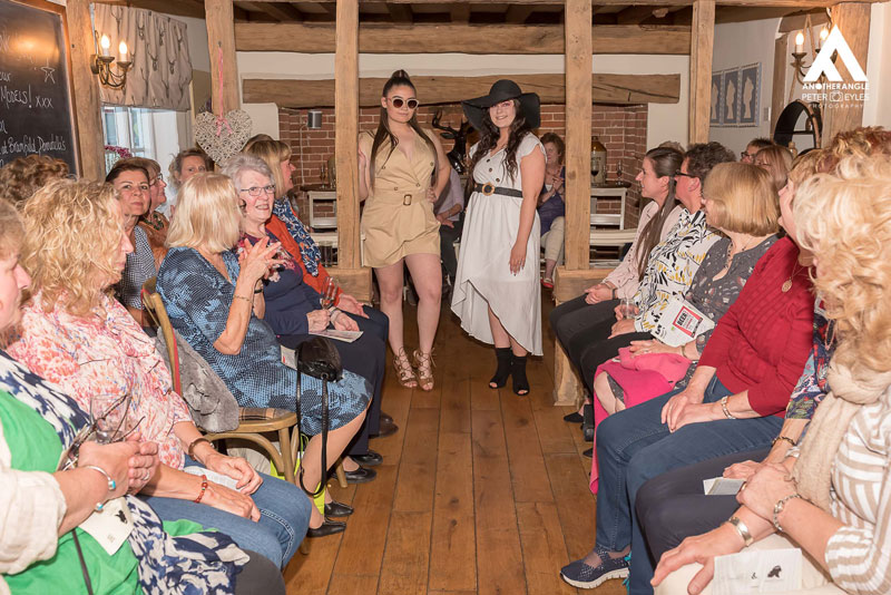 Fashion and fizz for the Pear tree fund