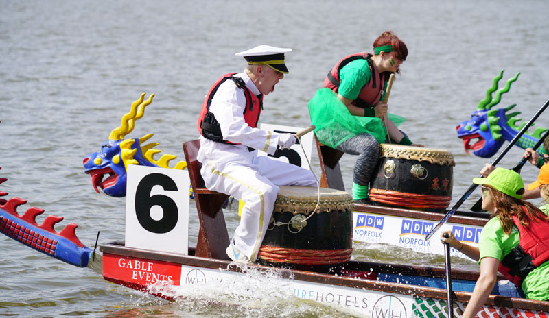 eagerly anticipated East Anglian Dragon Boat Festival