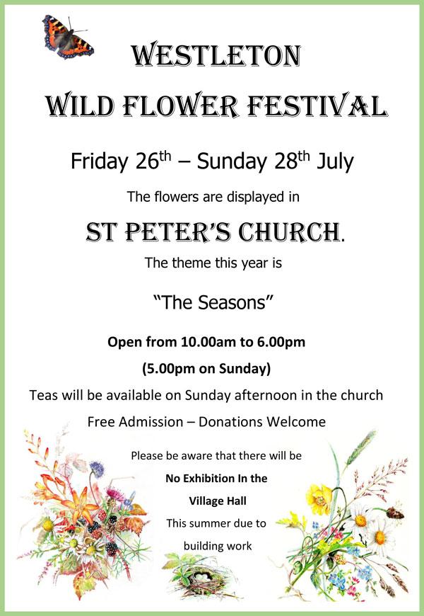 Westleton Wild Flower Festival