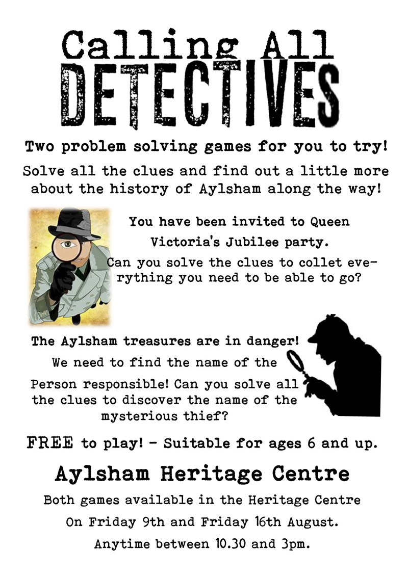Calling All Detectives