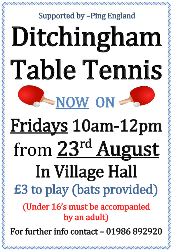 Community Table Tennis