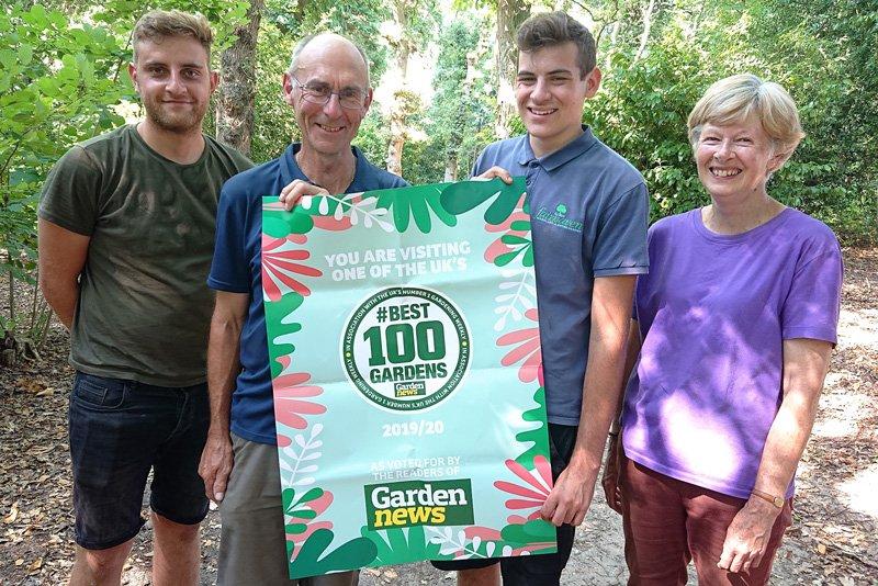 UK Best 100 Gardens