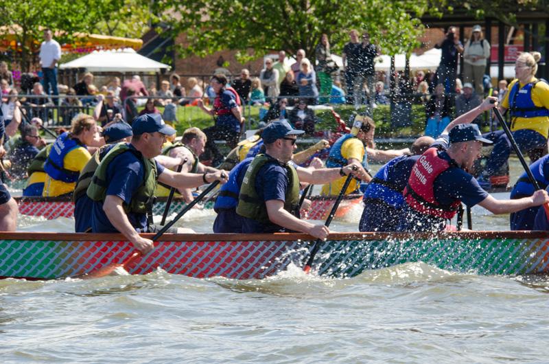 spectacular East Anglian Dragon Boat Festival