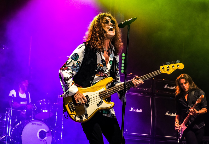 GLENN HUGHES performs DEEP PURPLE