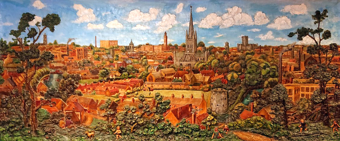The Norwich Panorama by John Moray-Smith