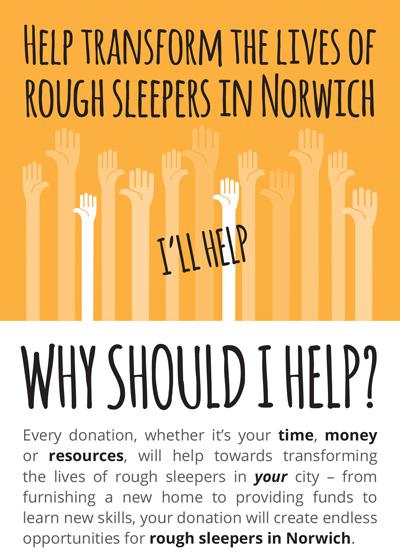 Norwich Street Aid Flier