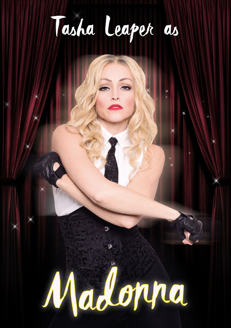Madonna tribute artist