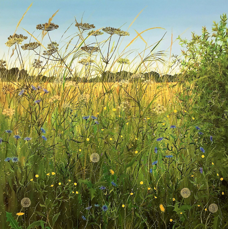 Open Studios: Summer Hedgerow, by Ruth Simpson