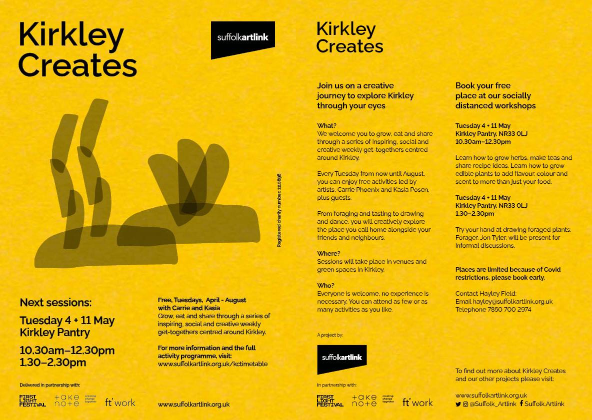 Creating community in Kirkley