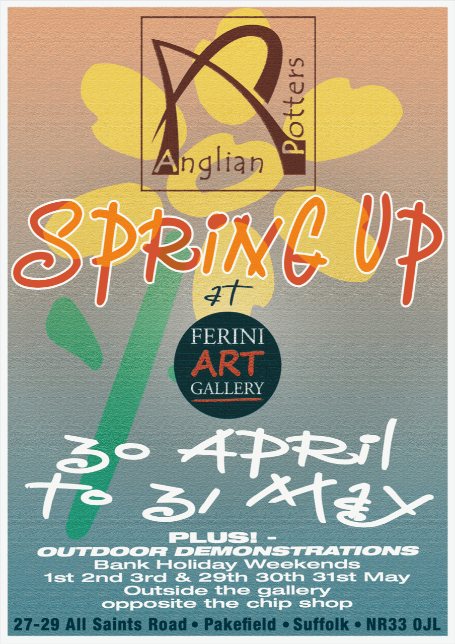 Anglian Potters Spring Up At Ferini