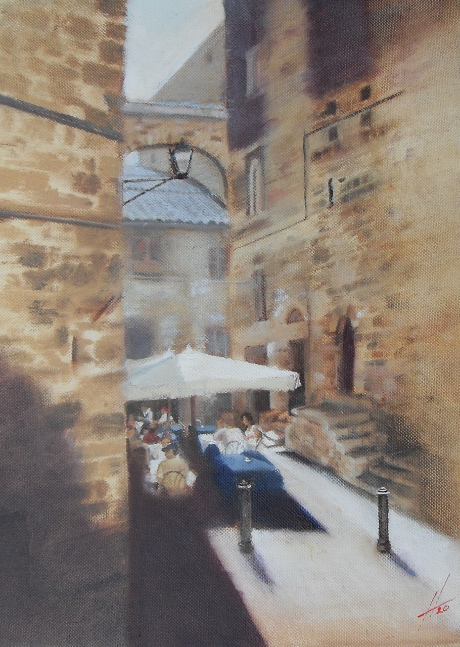 Lunch in the Shade by Steve Hendry
