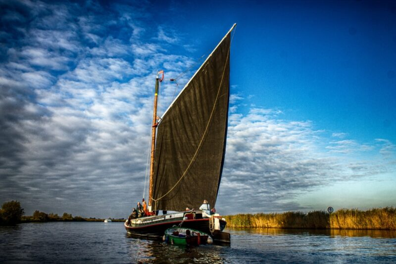 Norfolk Trading Wherry Maud