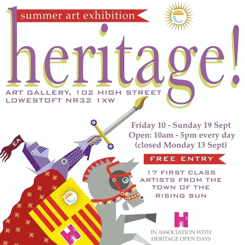 Easterly Artists Summer Exhibition, Heritage!