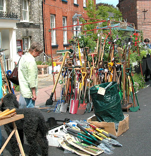 bungay garden street market 2007